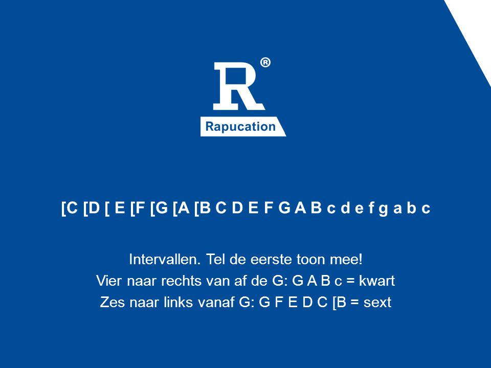 [C [D [ E [F [G [A [B C D E F G A B c d e f g a b c